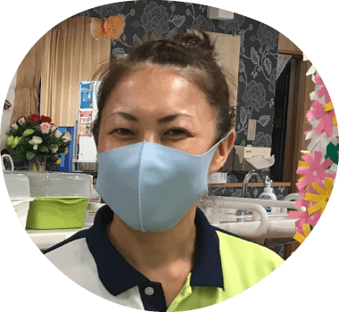 瑠璃の里 通所介護スタッフ 中田美奈詳細へ